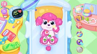 Trò chơi game giúp bé học tiếng anh Fun Baby Pet Care Kids Games - My Newborn Baby Pet - Puppy's Ca