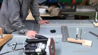 915. Downdraft, Multi-function, Router Table / Outfeed Work Station Series! (14 Of 20)
