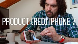Product (RED) iPhone 7 Plus unboxing &recenze