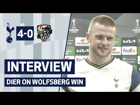 INTERVIEW | Spurs 4-0 Wolfsberger AC | Eric Dier speaks after Wolfsberger AC win