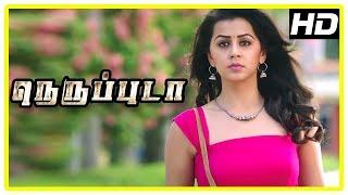 Neruppu Da Movie Scenes | Madhusudhan Rao escapes | Vikram apologises to Nikki Galrani | Varun
