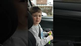 Mans not hot by 5 year old boy