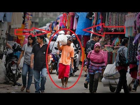VIDEO HEBOH !!! POLISI TAKUT !!! Rawan Penjahat, Polisi Menyamar di Pasar Tanah Abang