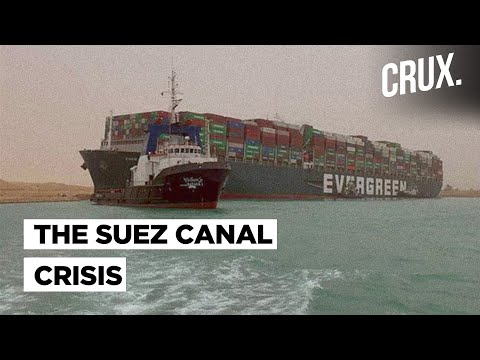 Suez Canal Blockage Costing $400 Million An Hour, May Take Weeks To Get Free