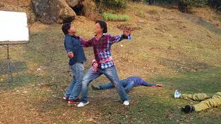Nepali Movie Dhoom 2  Fight Shooting Report ||