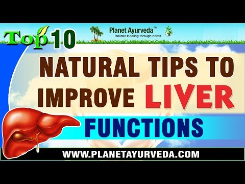Top 10 Natural Tips To Improve Liver Functions | Diet & Lifestyle