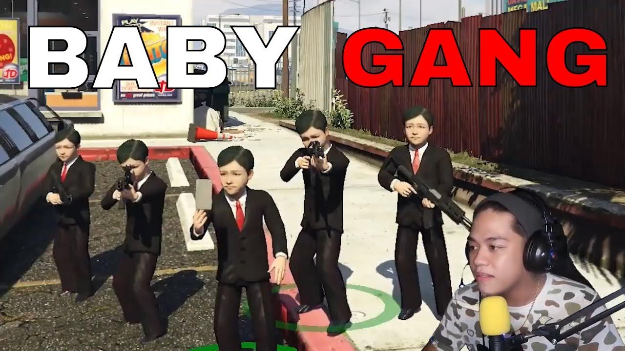 Mga BABY SINUGOD ang GTA 5!! *PRANK* | Gta 5 Roleplay