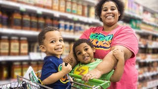 GOO GOO GAGA HELP MOMMY GROCERY SHOP! Learn How to Shop for Healthy Foods