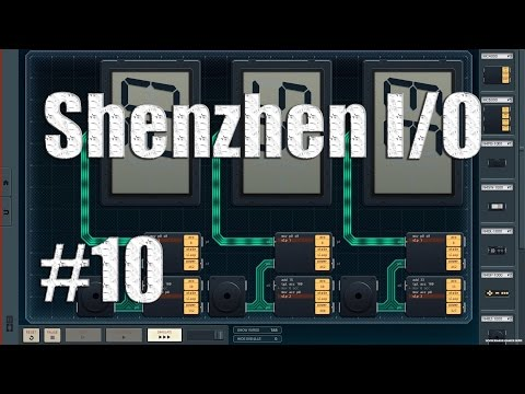 Let's Play SHENZHEN IO #10.5 - Little Help (Better Solution Explained) |