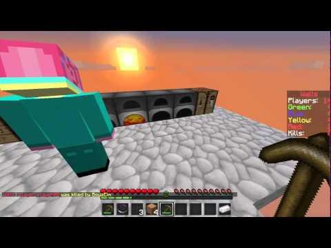 minecraft wall: w/ Alex