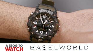 Casio G-SHOCK Mudmaster GG-B100 (GGB100-1A3) Watch Hands-On | New for Baselworld 2019 | aBlogtoWatch