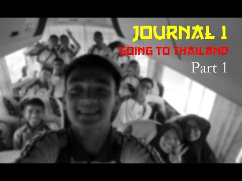 [JOURNAL 1] Going to Thailand - TMASC and MOU 2016 (Part 1)