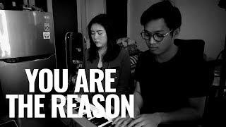 CALUM SCOTT - YOU ARE THE REASON (Cover) | Audree Dewangga, Melodi Malinda