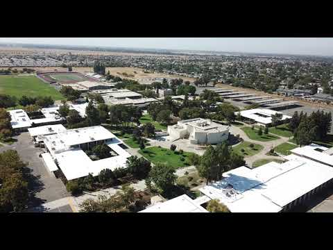 Yuba College, 2018 Roof Renewal Project, Front with Overview
