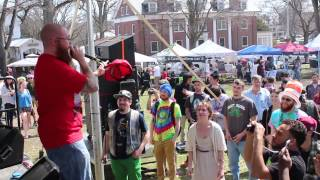 HONEYCOMB // EXTRAVAGANJA FESTIVAL // AMHERST GREEN, AMHERST, MA // 4/12/14