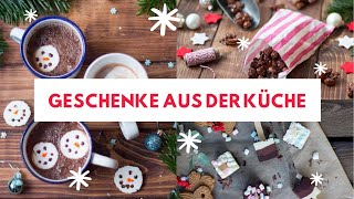 3 Naschereien zum Verschenken ❤ | Gebrannte Mandeln, Schneemann-Marshmallows...