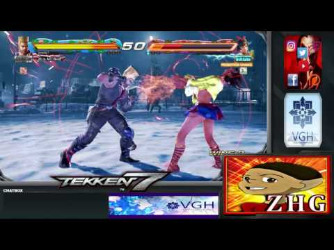 Tekken 7 : VGH - Video Gamers Hawaii - King of Iron Fist Tournament 808 (Part 1)