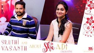 Sruthi & Vasanth about 'Shaadi' Short Film | Shaadi Exclusive | MR. Productions