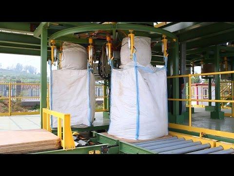 FIBC filling, Bulk Bag filler, bulk bag filling and weighing machine