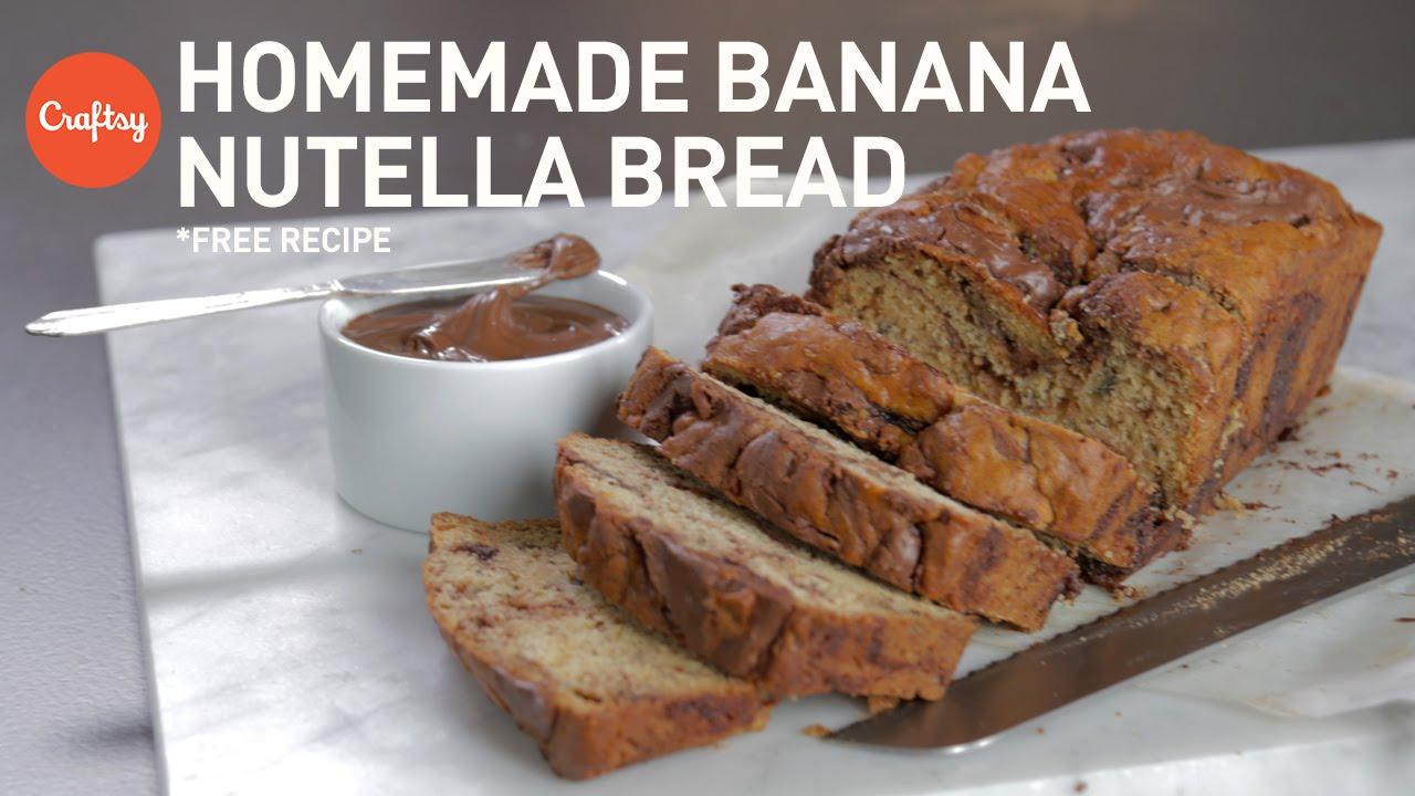 Banana nutella bread with free recipe craftsy baking tutorials banana nutella bread with free recipe craftsy baking tutorials forumfinder Images