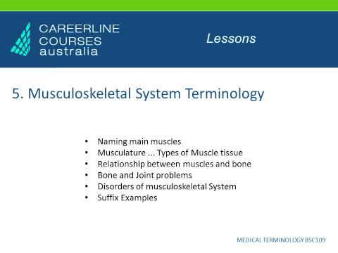 Medical Terminology Course Online