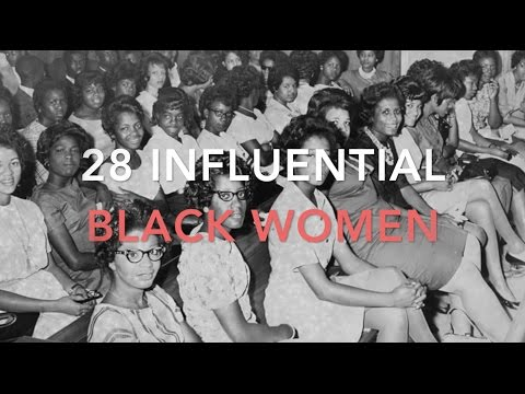 28 Influential Black Women