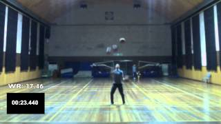 5 Basketball Juggling (Former World Record)