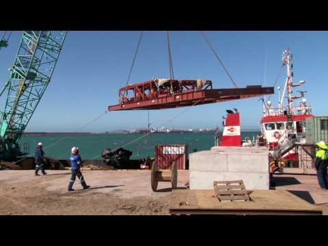 2017-04-11 Sunrise Energy Marine Installation Progress Video Part 2