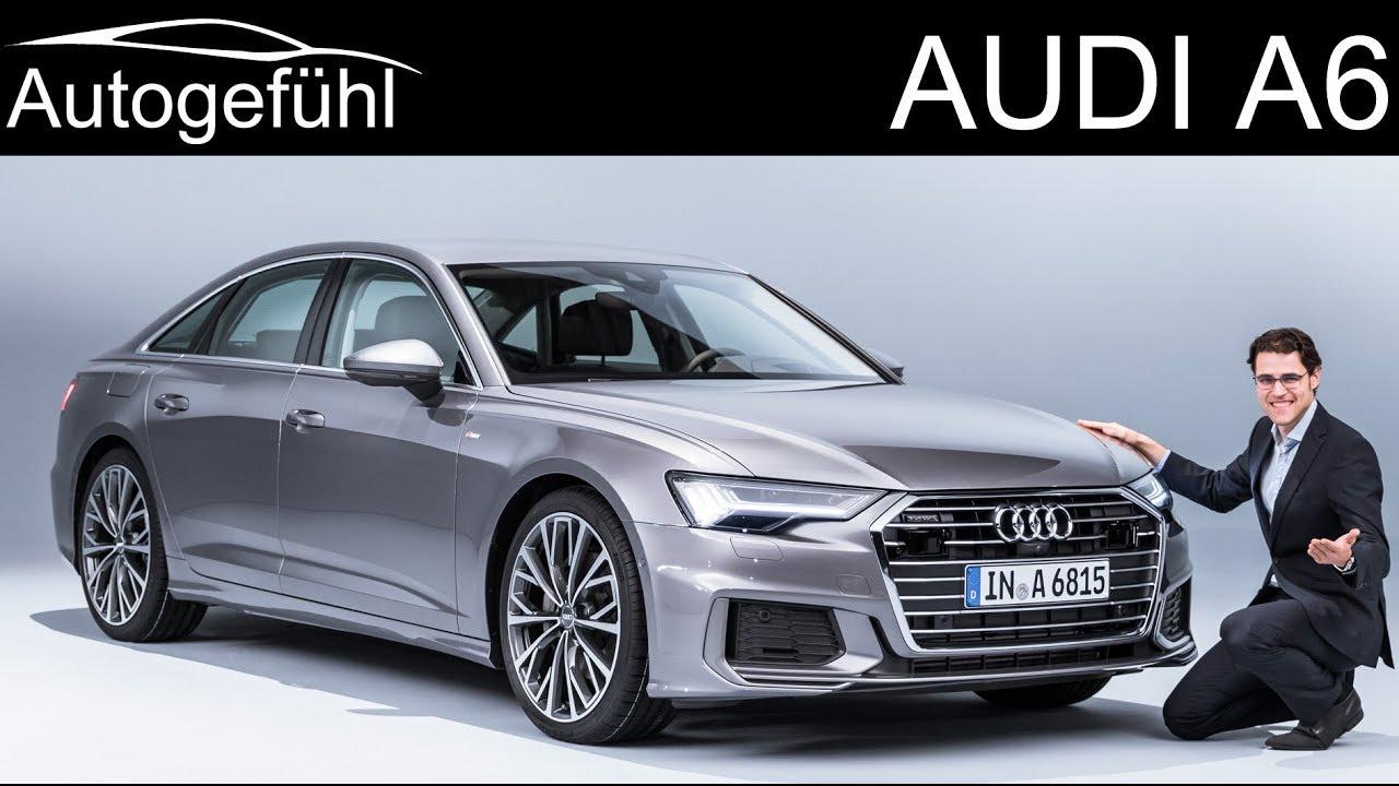 all-new Audi A6 REVIEW 2018/2019 C8 neu - Autogefühl - Dauer: 23 Minuten