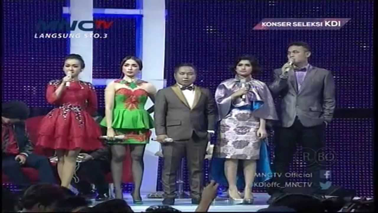 putra medan dan ana bangkalan peserta lolos konser kdi 2017 19 3 youtube
