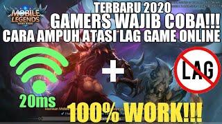 Ini Dia Cara Ampuh Atasi Lag Game Online!!! - GAMERS WAJIB COBA • 100% WORK!!!