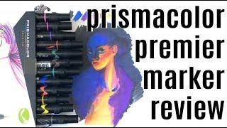 PRISMACOLOR PREMIER MARKER REVIEW | Copic Comparison