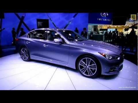 2014 Infiniti Q50 - Exterior Walkaround - 2013 Detroit Auto Show