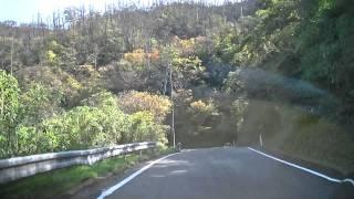 鳥取県道155号線 網代漁港から田後まで
