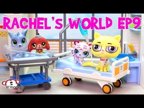 LPS - Rachel's World Ep 9 - Grandpa Grouch At The Hospital!