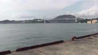 映画「あなたへ」のラストシーンでは、関門海峡をバックに高倉健の感動...