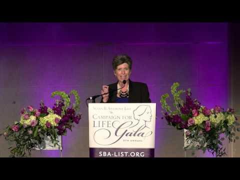 Campaign for Life Gala 2016: Senator Joni Ernst
