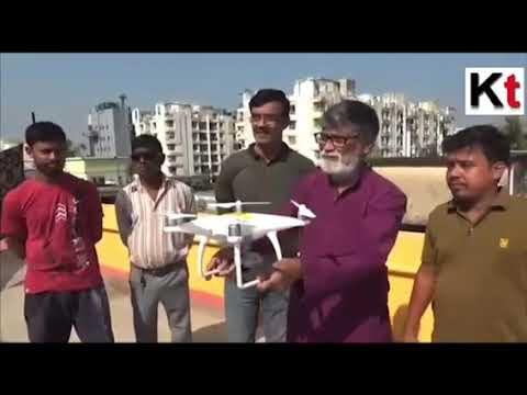 South Dum Dum Municipalty initiated the Drone Surveillance to fight against Dengue