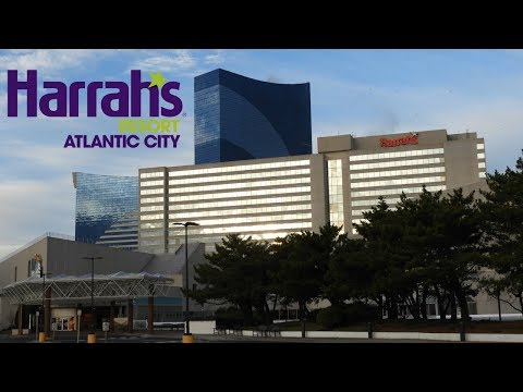 Harrah's Atlantic City Casino Resort & Waterfront Tower Room Tour
