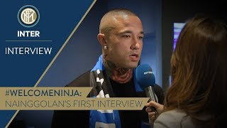 RADJA NAINGGOLAN | First Inter TV Interview | #WelcomeNinja! 🎙️⚫️🔵