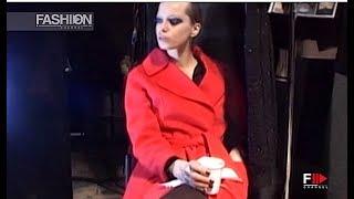 ANGELO MARANI BACKSTAGE Autumn Winter 2008 2009 Milan   Fashion Channel