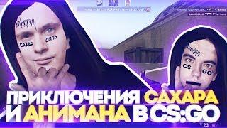 ПРИКЛЮЧЕНИЯ САХАРА И АНИМАНА В CS:GO