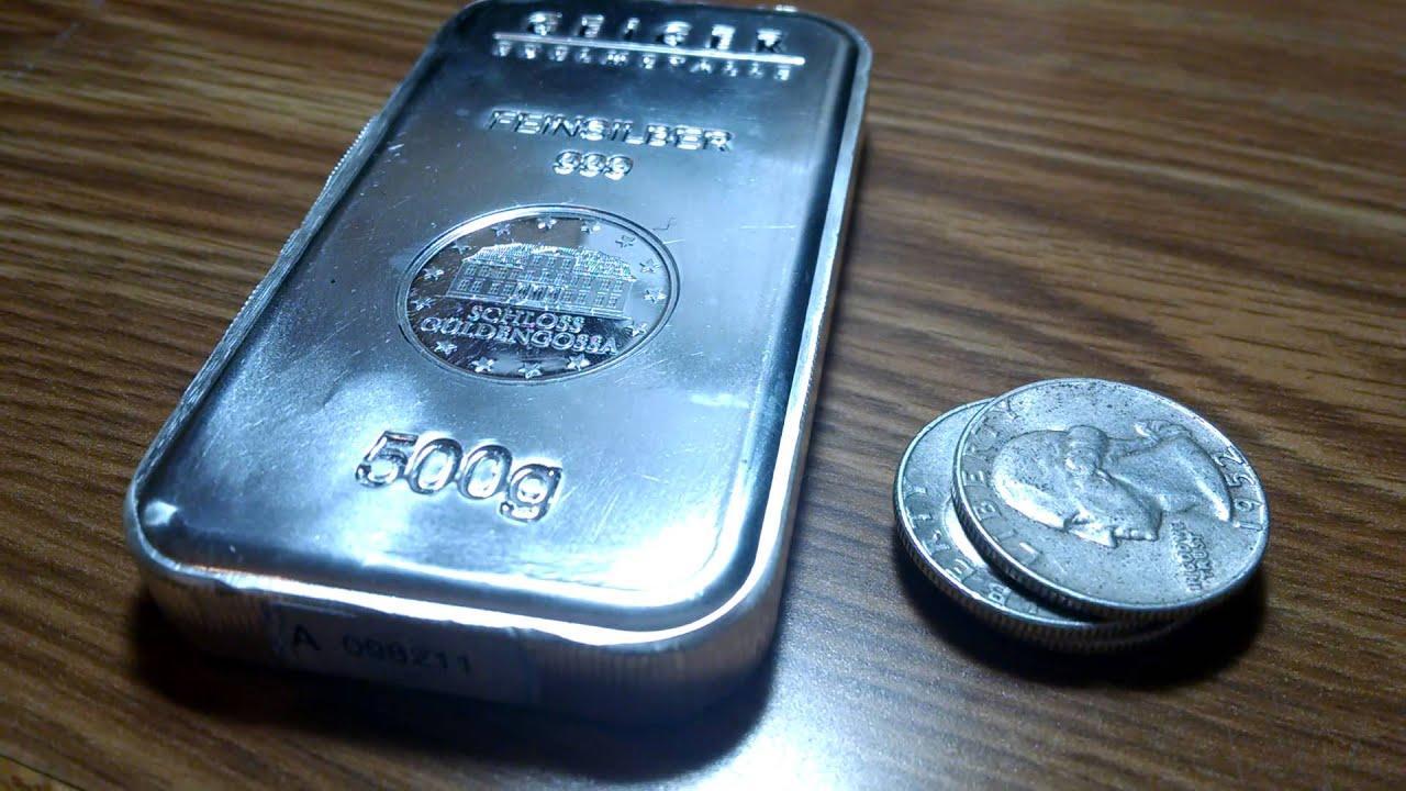 Geiger 500 Gram Silver Bar
