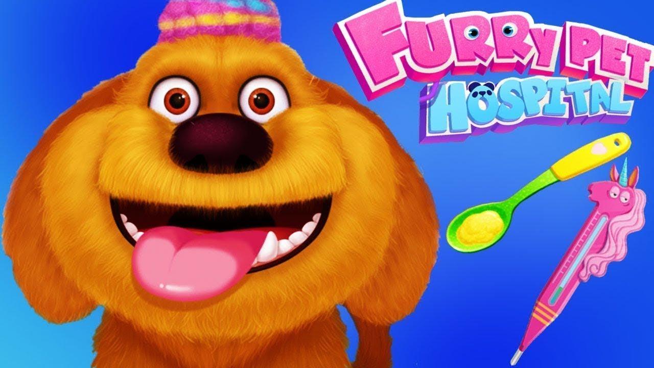 Fun Furry Pets Hospital Fun - Cute Little Pet Puppy ...