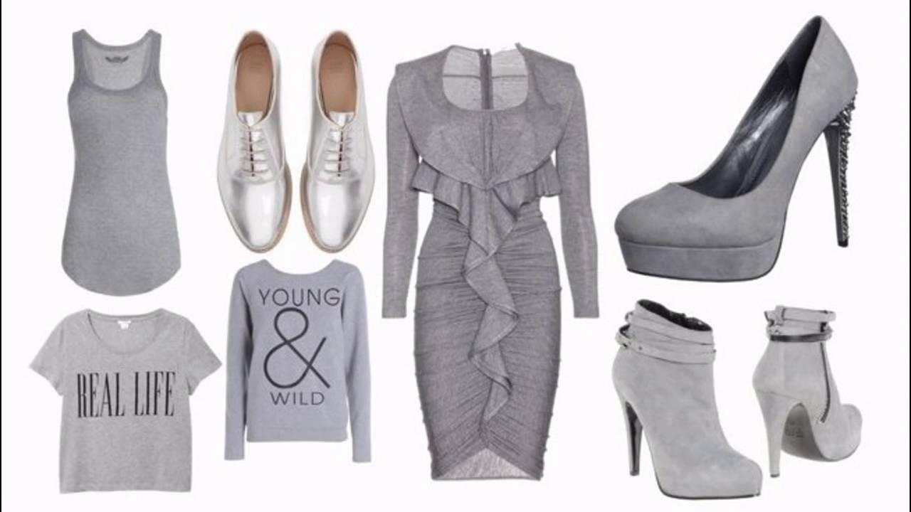 Tendencias de moda como combinar el color gris en ropa for Colores para combinar con gris