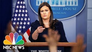White House Press Briefing - October 27, 2017 | NBC News