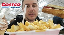 Trying Canadian Costco Food