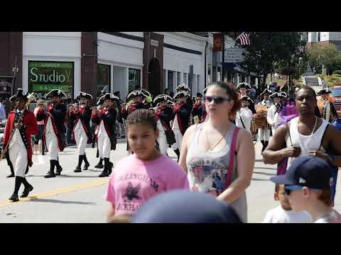 Labor Day Parade Marlborough, MA 2017 - William Diamond Junior Fife and Drum Corp