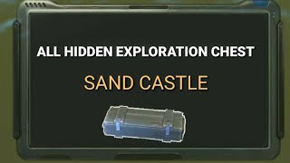 LifeAfter - Hidden Exploration Chest in Sand Castle
