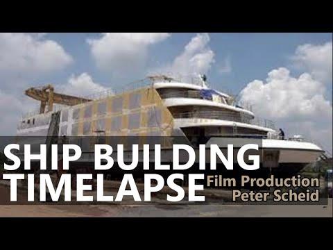 Documentation SHIPBUILDING, Time Lapses - Film/Video Production, Cameraman Vietnam